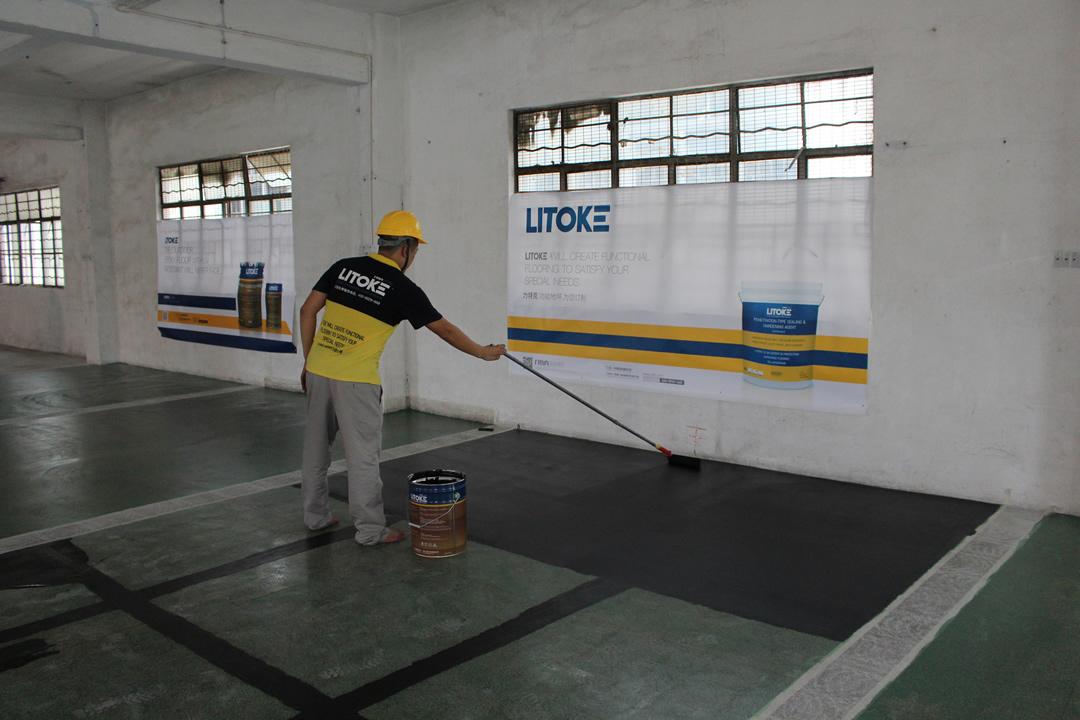 力特克环氧树脂防静电中涂地坪漆