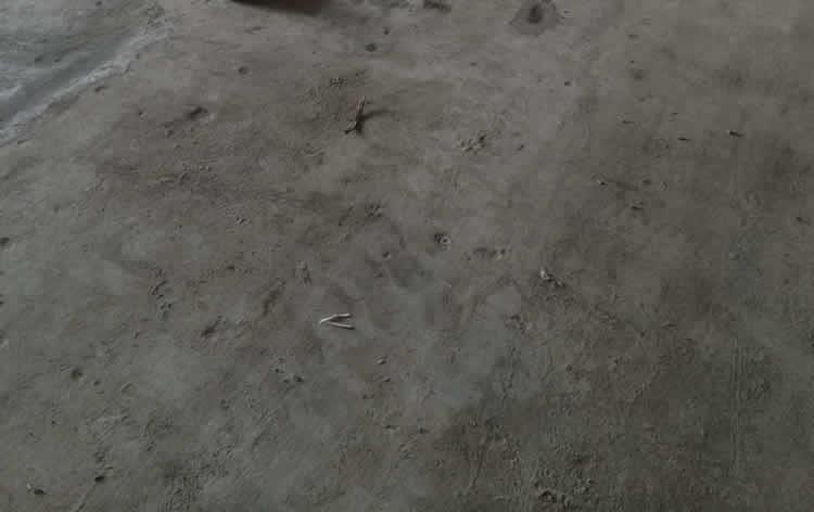 旧地面起砂处理