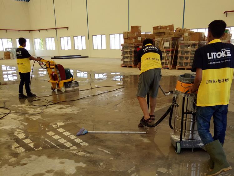 混凝土密封固化剂施工流程-力特克