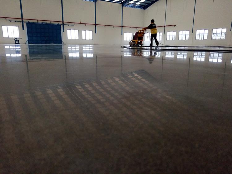 印尼耐克厂硬化地坪工程-力特克