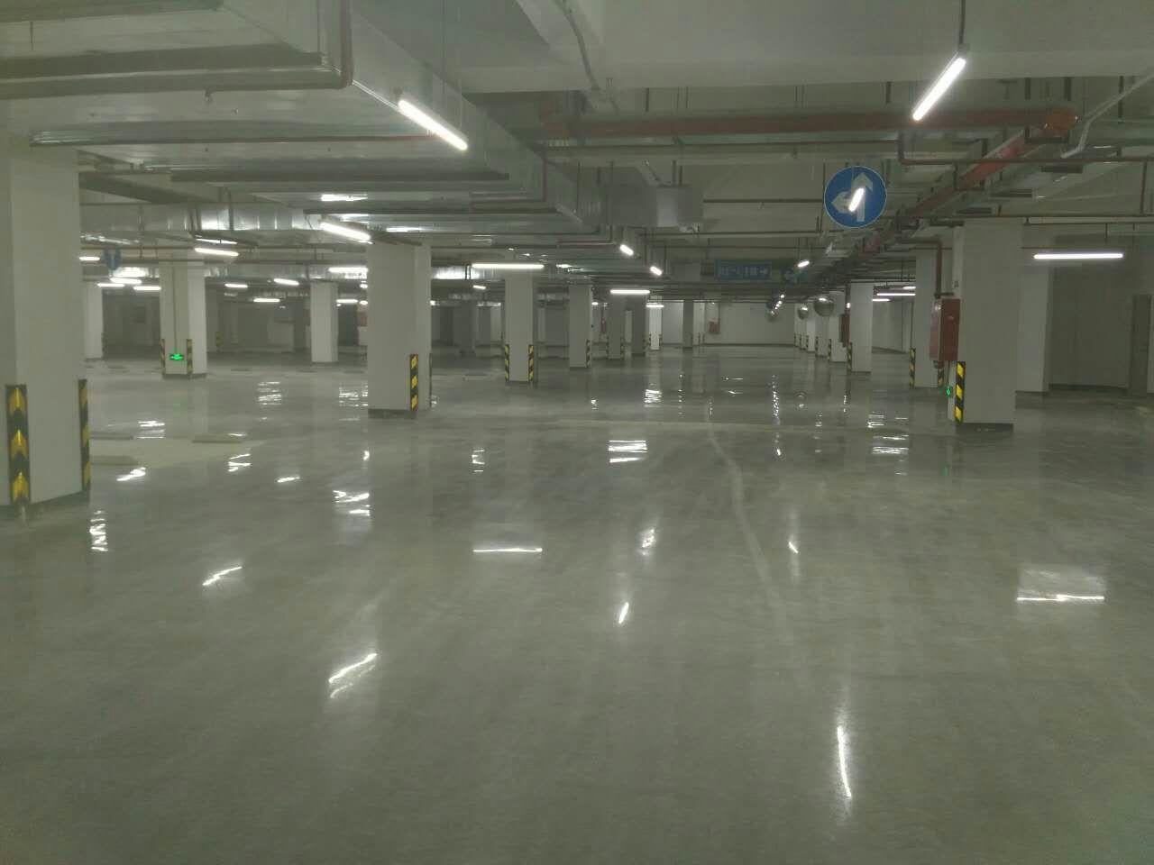 地下停车场硬化地坪