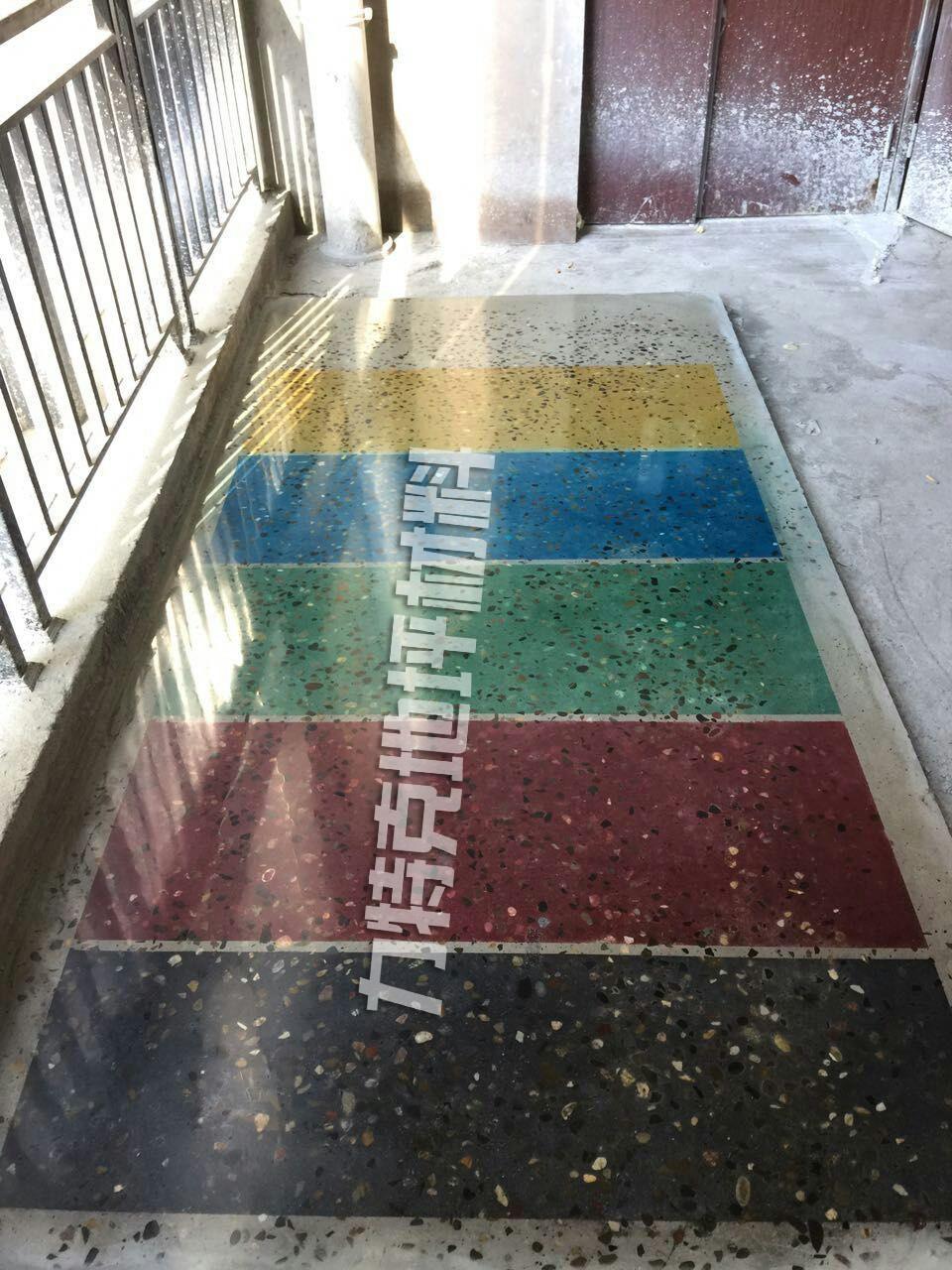 力特克混凝土染色剂地坪
