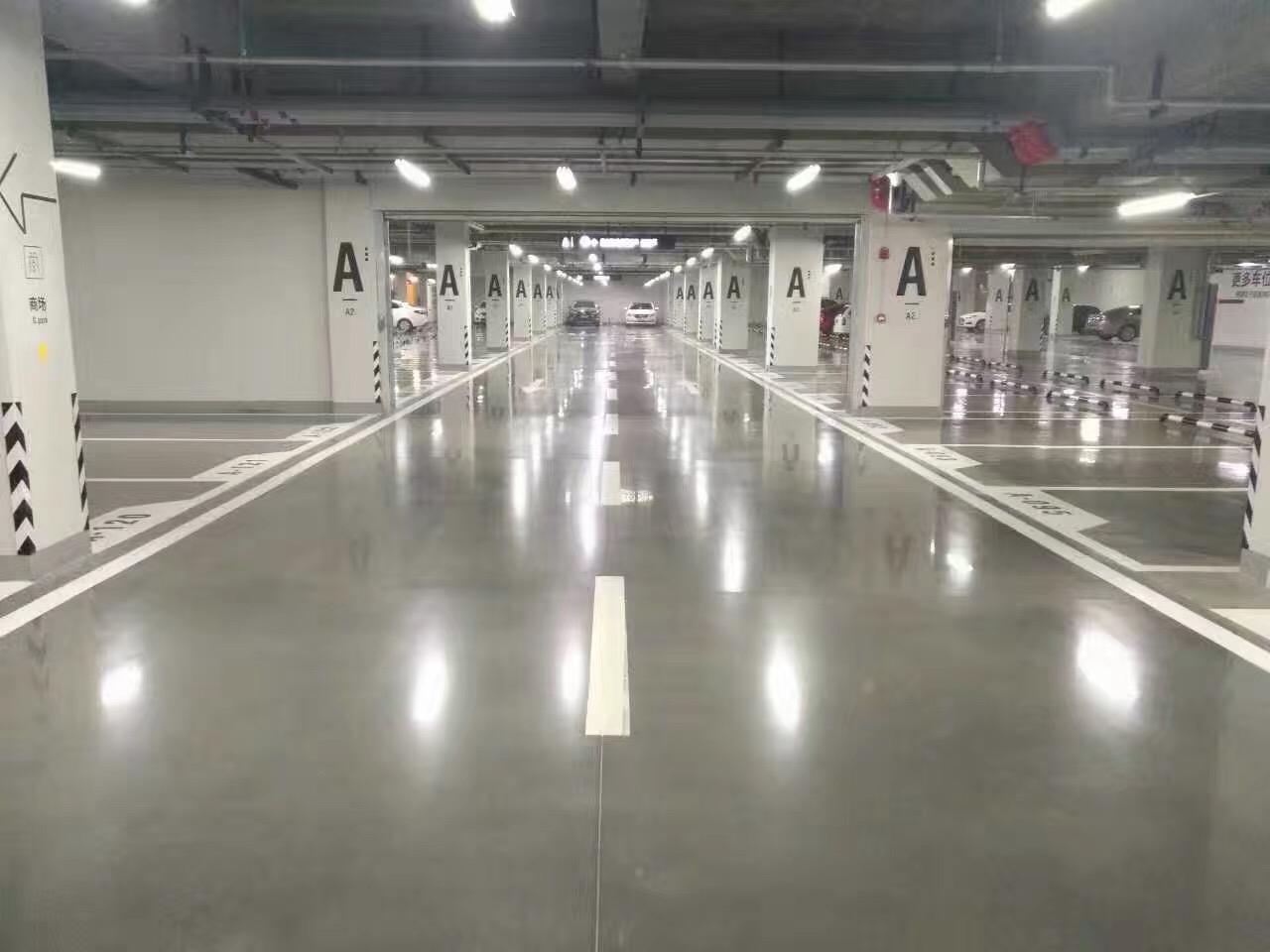 停车场固化地坪