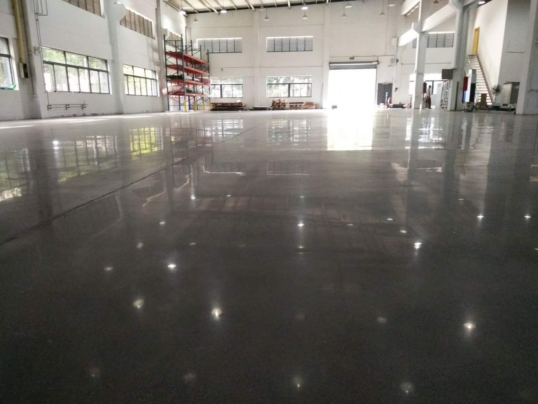 高品质密封固化地坪