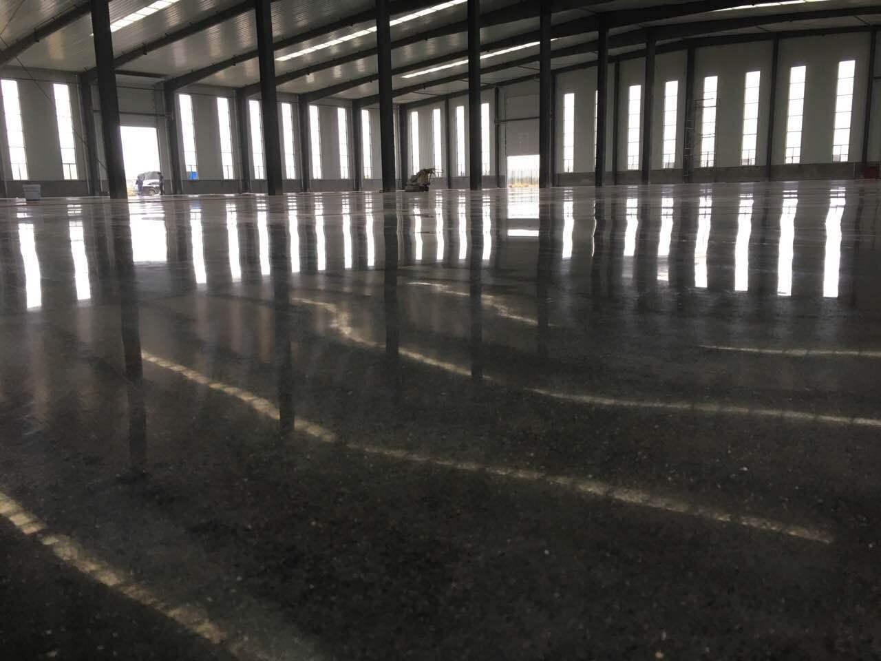 厂房地面固化翻新